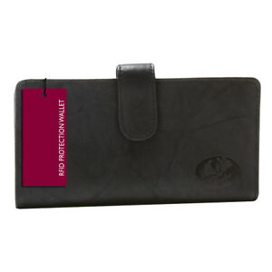 New Buxton Heiress High Quality Leather Checkbook & Credit Card Holder Wallet