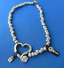 Col0475Mt 36 Cm/14,04 inch Uno De 50 Corazonada necklace