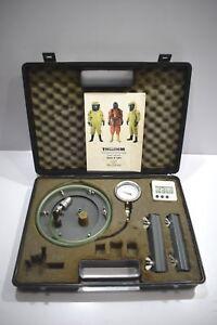 Trellchem Trelltest T 487090076 chemical protective suit pressure test kit