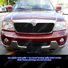Fits 03-04 Lincoln Navigator Black Billet Grille Insert Combo