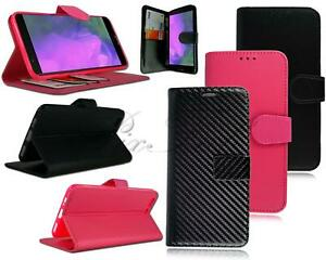 For OnePlus 5 A5000 New Genuine Black Pink Leather Flip Wallet Phone Case Cover