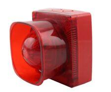 Alarmsirene Alarm Sirene 8 wählbare Töne LED Blitzlicht 220V AC IP66