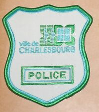 VILLE DE CHARLESBOURG POLICE Canada Canadian PD patch