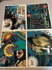 Nos Folder lot 4 with Pockets Rock & Roll Hippie Denim Jeans Motorcycle Artwork