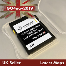 LATEST RENAULT TomTom Carminat V10.15 SD CARD EUROPE and UK MAP 2019 - 2020