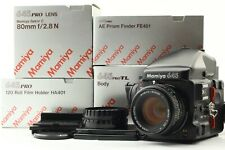 **Near Mint** Mamiya 645 Pro TL Film Camera w/ Sekor C 80mm F/2.8N In Box #1323