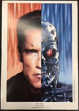 The Terminator, by Simon Wright, Limited edition Print 041/500, Mint Condition!