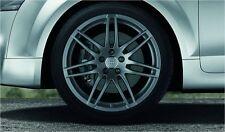 Audi Original Complete Summer Wheel Set 7 DOUBLE SPOKES Design SLINE 9,0j x 19