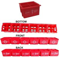 6 CRATES BOX RACK SET FOR MINI COCA COLA BOTTLES RUSSIA SOCCER WORLD CUP 2018
