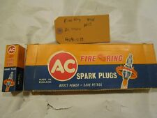 58-70 BBC 348/409 & 396/427/454 AC Delco *NOS* Spark Plugs-RARE Small Fire Ring