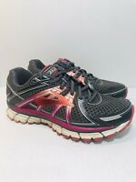Brooks Adrenaline GTS 17 Womens Running Athletic Shoes Size 7.5 Medium B