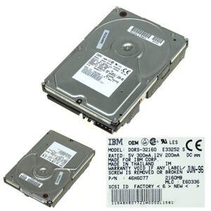 IBM DORS-32160 SCSI 2.1GB 5400RPM 46H6077 3.5''