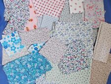 600g Mixed offcuts polycotton bundle fabric ditsy floral material Job lot craft