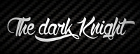 The dark Knight Aufkleber Auto Style Sticker Tuning Racing JDM Joker gotham