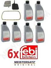 6-Quarts Fluid & A5S 360R A5S 390 Transmission Filter Kit E46 323 325 330 E39 X3