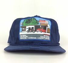 Vintage Toms Auto Electric Firebaugh California Baseball Cap Hat Blue Color Adj
