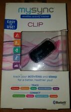 MySync Clip Bluetooth Activity + Sleep Tracker - Track Calories Distance Sleep +