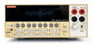 Keithley 2015 Digital Multimeter THD distortion analyzer DMM Multimetro banco