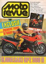 MOTO REVUE 2623 KAWASAKI GPZ 900 R Ninja ; KTM 125 250 GS RV SALON de PARIS 1983