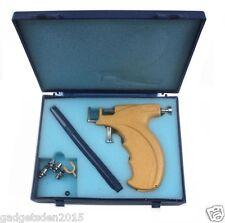 Ear Body Piercing Gun Tool Kit Fits 3 Sizes(3mm, 4mm, 5mm) + Silver/Gold Studs.