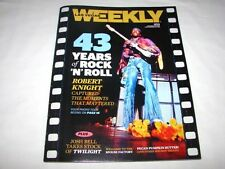 Las Vegas Weekly Magazine 43 Years of Rock N Roll Issue Jimi Hendrix Cover New