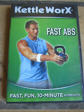 Kettle Worx Fast Abs DVD Fast Fun 10 Minute Workout with Ryan Shanahan
