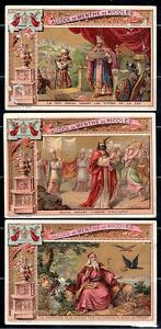 "POSTCARDS ART 1920's FRANCE THREE ADVERTISING CARD FOR ""ALCOOL DE MENTHE DE RICO"