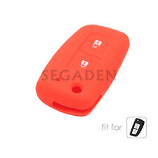 Silicone Case Cover fit for NISSAN Qashqai Juke Tiida Remote Key Fob 2 Button OR