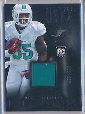 MIKE GILLISLEE - 2013 Panini BLACK Rookie SP Jersey /299 - Dolphins RC