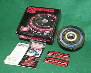 """NEW PRO PRODUCTS 90007 SMALL BLOCK FORD LATE 6.4"""" HARMONIC BALANCER DAMPER 5.0"""