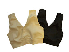 ENGEL Nursing Bra ORGANIC COTTON maternity feeding brassiere top black beige eco
