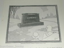 1930 Rock of Ages advertisement, Tombstone Headstone, carved name Wallwork