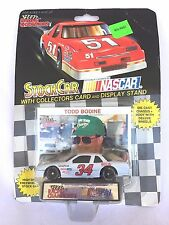 Lionel Nascar Harry Gant 34 Collectors Card Display Stand 1:87 Die Cast Car NEW