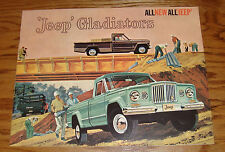 Original 1962 Jeep Gladiator Sales Brochure 62 Townside Thriftside Stake Panel