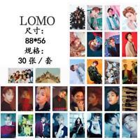 Fashion 30pcs /set KPOP NCT127 NCT U Photo Card Poster Lomo Cards Bookmark