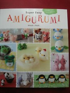 CROCHET AMIGURAMI PATTERN BOOK  9 DESIGNS WITH VARIATIONS