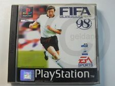 PLAYSTATION PS1 GAME FIFA 98, used but OK