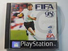!!! PLAYSTATION PS1 SPIEL FIFA 98, gebraucht aber OK !!!