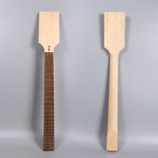 New baritone Guitar Neck 24fret 27inch Maple Rosewood Fretboard Paddle head