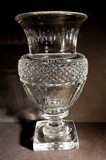 Rare Baccarat MUSEE DES CRISTALLERIES 1821-1840 REPRODUCTION Crystal Vase EXCEL!