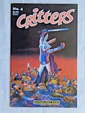 Critters No. 4 September 1986 First Printing May 1986 Fantagraphics VF/NM (9.0)