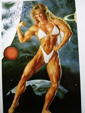 CORY EVERSON Authentic Hand Signed 4X6 Photo - 6X MS. OLYMPIA BODYBUILDING