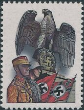 Stamp Replica Label Germany 0130 WWII Iron Cross Flag German Soldiers Guard MNH