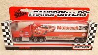 Vintage 1992 Matchbox Super Star Transporters Morgan Shepherd Motorcraft