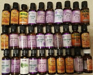 NOW brand Essential Oils (lot of 30)