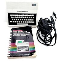 Radio Shack TRS-80 MC-10 26-3011 Micro Color Computer Box AC Book UNTESTED