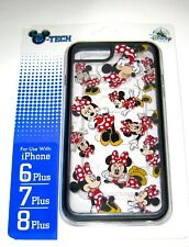 Disney Parks D-Tech iPhone 6S+ 7+ 8+ Plus ✿ Minnie 3D Effect Clear Laugh Happy
