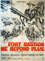 Plakat Kino Western Ford Bastei Ne Repond Plus - 120 X 160 CM