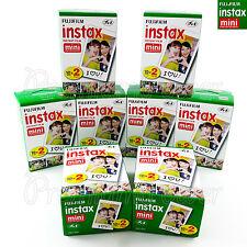 160 Pcs Fujifilm Instax Mini Instant film for camera 7s/25/50/90/70 Box