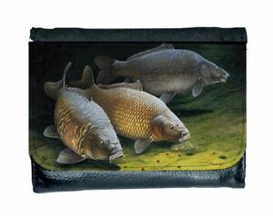 Cautious Carp fishermans  wallet.carp angling  wallet
